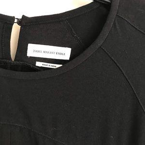 Isabel Marant Etoile Black Dress French Size 34